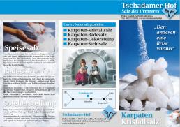 Tschadamer Hof Folder