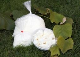 1/2 kg und 1 kg hergestellt aus teilentrahmter Milch, weich und geschmeidig