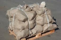 in 50-kg-Säcken